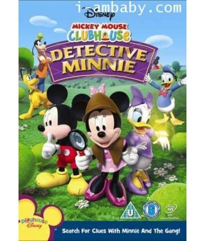 Mickey Mouse Clubhouse Detective Minnie สโมสรมิคกี้ เม้าส์ มินนี่ยอดนักสืบ 1 DVD [เสียง 2 ภาษา]