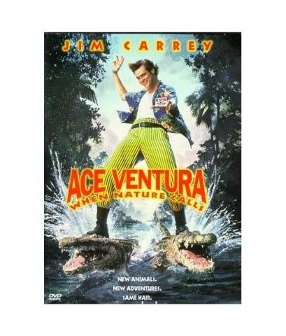 Ace Ventura When Nature Calls เอซ เวนทูร่า 2 ซูเปอร์เก๊กกวนเทวดา 1 DVD เสียงอังกฤษ-ซับไทย