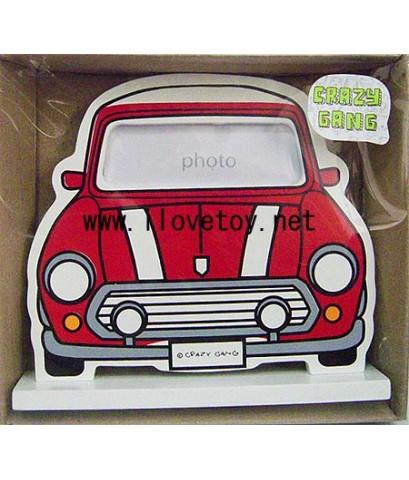 กรอบรูป ลาย รถมินิ คูเปอร์ Mini Cooper Photo Frame เจาะช่องใส่รูป