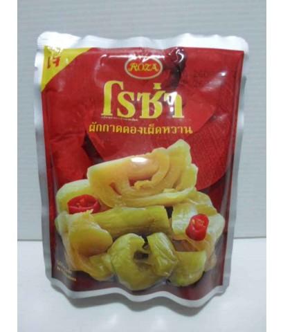 ผักกาดดองเผ็ดหวาน โรซ่า ( 145 g.)