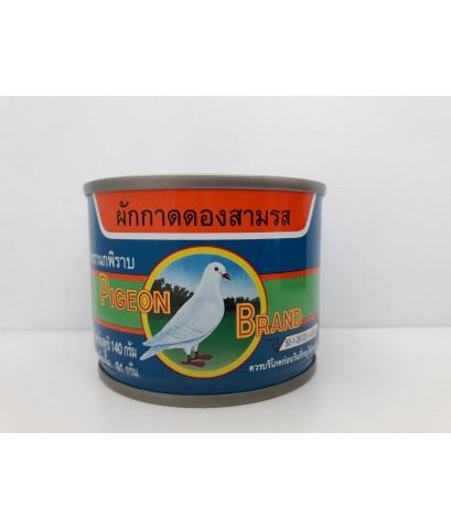 ผักกาดดองสามรสเจ(นกพิราบ)