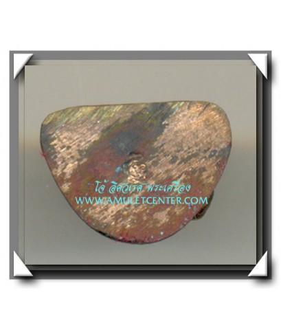 หลวงปู่ทองดำ วัดท่าทอง อุตรดิตถ์ รูปหล่อรุ่น เหล็กน้ำพี้ พ.ศ.2537 องค์ที่ 4
