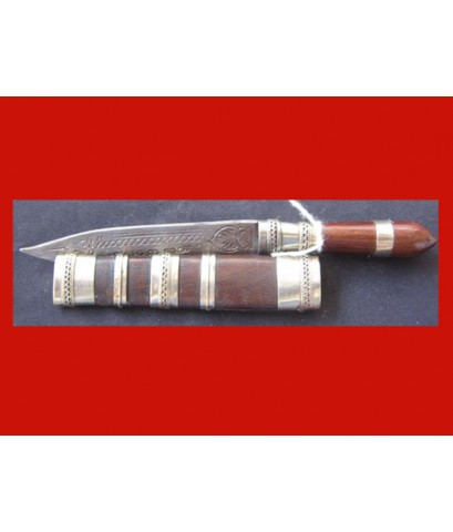 มีดหมอปากกา ขนาดใบมีด 2.5 นิ้ว ด้ามไม้ หลวงพ่อเปลื้อง วัดลาดยาว เกจิดังอายุกว่า 108 ปี สวยมาก