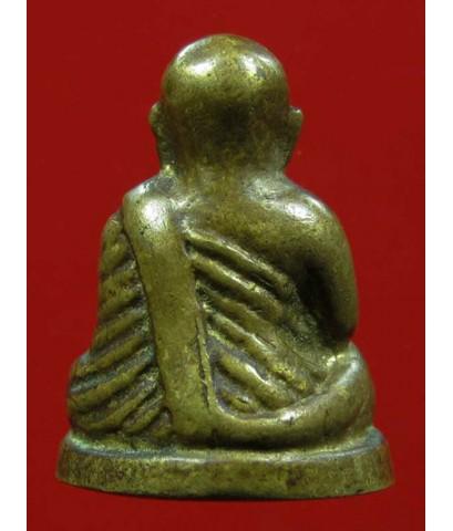 รูปหล่อหลวงพ่อเงิน บางคลาน ใต้ฐานเลข ๑ วัดห้วยเขน เนื้อทองเหลืองเก่า ปี 2525 พิธีใหญ่ สวยหายาก