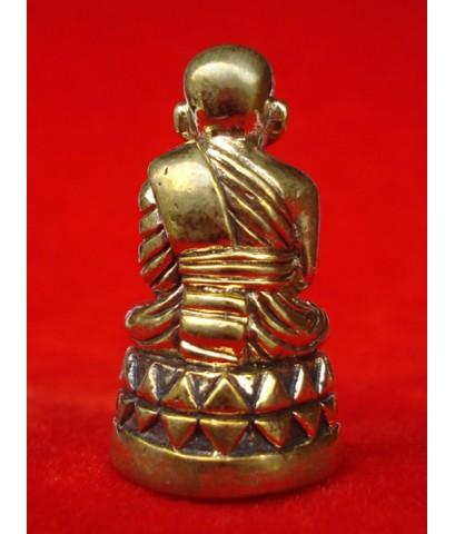 กริ่งหลวงพ่อทวด พิมพ์บัวรอบ เนื้อทองทิพย์ รุ่นเลื่อนสมณศักดิ์ ๔๙ วัดช้างให้ พิธีใหญ่มากสุดยอดนิยม