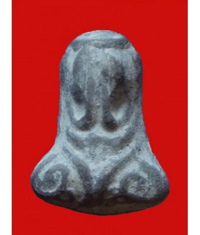 พระปิดตานะหัวเข่าหลวงปู่เอี่ยม วัดโคนอน เนื้อชินตะกั่ว ปี 2514 กล่องเดิม ตำรับวัดหนัง หลวงปู่โต๊ะเสก