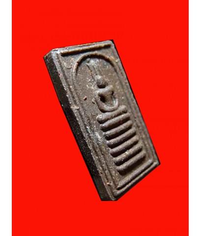 พระสมเด็จไพ่ตองหูกระต่าย เนื้อผงยาวาสนาจินดามณี พระเครื่อง หลวงปู่เจือ วัดกลางบางแก้ว ปี 2550