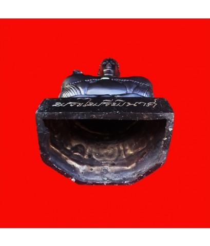 พระบูชาไพรีพินาศ  สมเด็จพระสังฆราช วัดบวรนิเวศ  ขนาดหน้าตักกว้าง 5 นิ้ว วัตถุมงคลที่ควรมีไว้บูชา