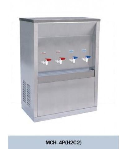 ตู้ทำน้ำเย็น น้ำร้อน MAXCOOL รุ่น MCH-4P หน้าเว้า