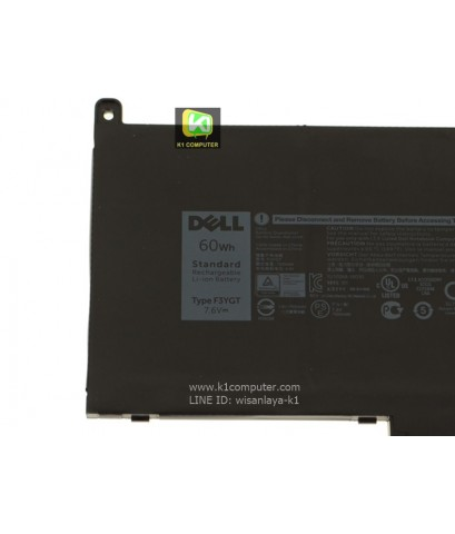 F3YGT battery for Dell Latitude 7280 Latitude 7480 DM3WC 0DM3WC 2X39G 7.6V 60Whr