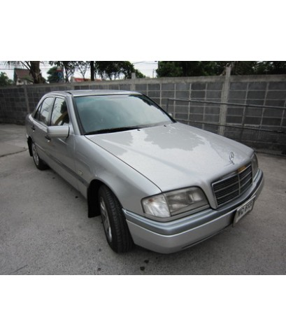 Benz C180 W202 โฉมปี94-00 ติดแก๊สหัวฉีด Autogas Italy ถังแคปซูล58ลิตร