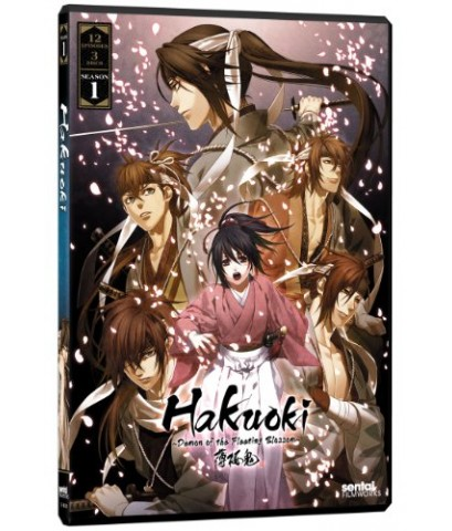 Hakuoki Season OVA Set / บุปผาซามูไร กลีบหิมะโปรยสะบัด DVD พากย์ไทย-บรรยายไทย 3 แผ่นจบ