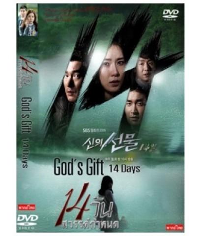 God\'s Gift 14 Days/14 วันสวรรค์กำหนด DVD บรรยายไทย 4 แผ่นจบ