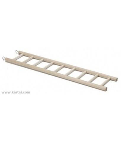 บันไดไม้ ไซร์เล็ก ใช้สำหรับให้นกไต่ หรือปีนเล่น บรรจุ 1 ชิ้น