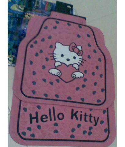 ผ้ายางรองพื้นรถยนต์ คิตตี้ Kitty