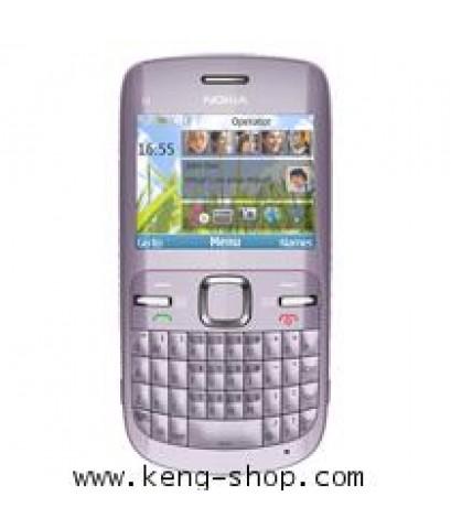 โนเกีย-Nokia C3-00 Acica สีม่วงมาใหม่ ออนไลน์ผ่านการเชื่อมต่อ Wi-Fi และเชื่อมต่อสังคมออนไลน์+ส่งฟรี