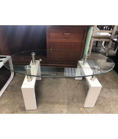 โต๊ะกลางกระจกมือสอง