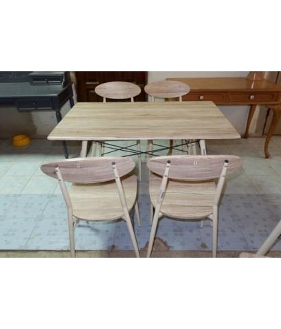 ชุดโต๊ะทานอาหาร 4 ที่นั่ง