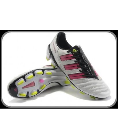 รองเท้าฟุตบอล adidas adiPower PREDATOR TRX FG - Women - white/pink ขาว ชมพู