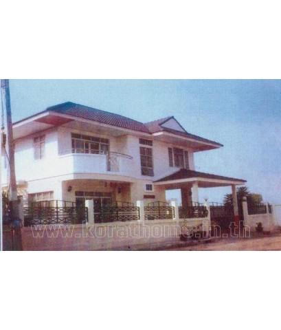 บ้านเดี่ยว 2 ชั้น หมู่บ้านพฤกษ์ศิริ นครราชสีมา