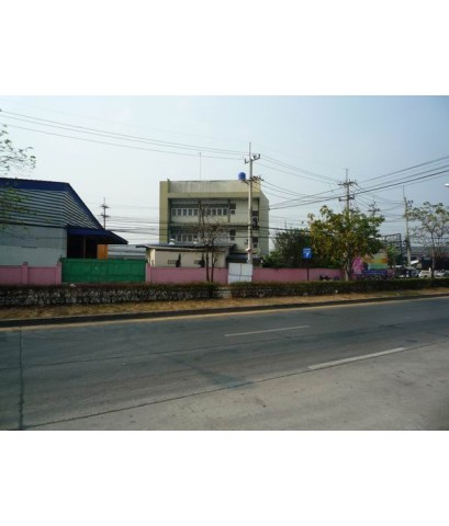 ขายอาคารโกดังและบ้านพักอาศัย ติดถนนราชสีมา-โชคชัย