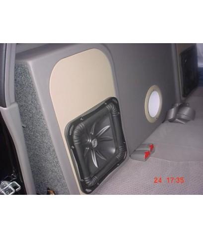 DMax 4ประตู ถอดพนักพิงเบาะหลังตีตู้เปิด