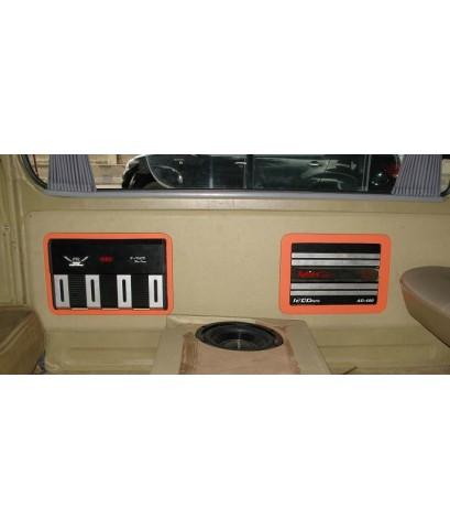 รถตู้ =gt; รถตู้หัวจรวจ ตีตู้ซับใต้เบาะ 3000 บาท  ทำแผงซาวด์ครอบเก็บแอมป์ด้านข้าง 2500 บาท