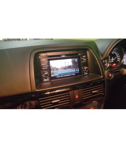 ตัวอย่าง mazda CX5 ติดดิจิตอล ทีวี ภาพคมชัด