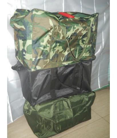 กระเป๋าร่มใบใหญ่มีขนาดเดียว กันฝนได้ มี 3 สีให้เลือก