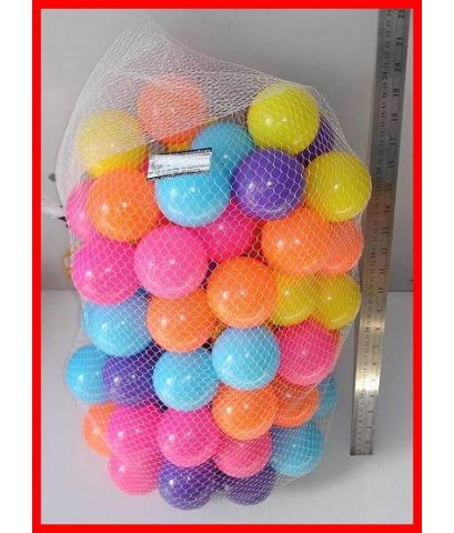 ลูกบอลหลากสี 100 ลูก ตัวลูกบอลเป็นพลาสติกนิ่มๆค่ะ  ใช้ใส่เล่นในบ้านลูกบอล หรือในสระว่ายน้ำ