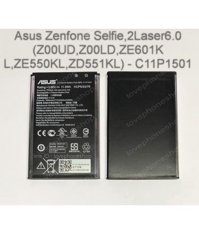 แบตเตอรี่ (Original) Asus Zenfone Selfie,2Laser6.0(Z00UD,Z00LD,ZE601KL,ZE550KL,ZD551KL)-C11P1501