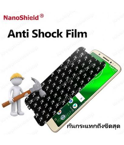 ฟิลม์กันรอย iPhone XSmax Nanoshield Hammer Anti Shock Screen Protector เว้นขอบ กันนํ้า ส่งฟรี!!!