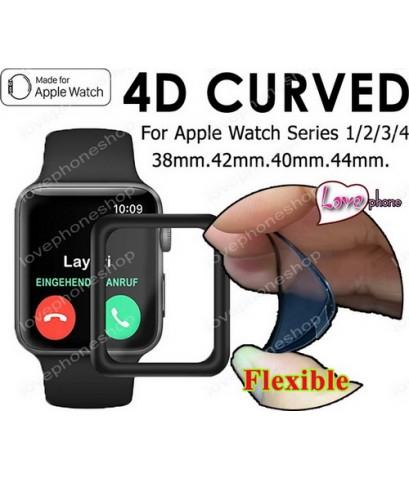 สุดยอดฟิล์มกันรอย Flexible screen protector Film For Apple Wacth 42mm.(รองรับ Series1/2/3) ส่งฟรี!!