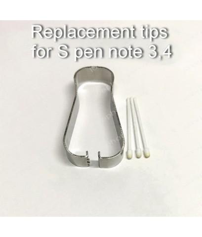 หัวปากกา S pen Note3 Note4 สีขาว ของแท้!! ส่งฟรี..