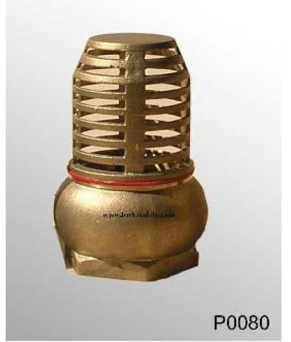 ฟุตวาล์วทองเหลือง 3 นิ้ว