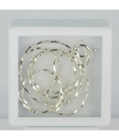 สร้อยเงินแท้ (Sterling Silver Necklace)P1-38