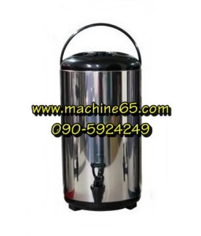 ถังเก็บชา ถังพักชา 12 ลิตร สีดำ