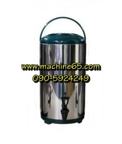 ถังเก็บชา ถังพักชา 12 ลิตร สีเขียว