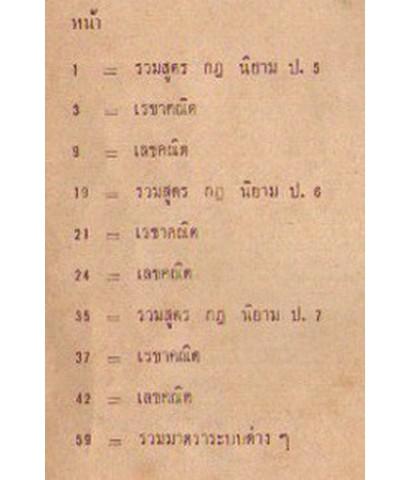 รวมกฎสูตร คณิตศาสตร์ ป.5,6,7  (อ.อุเทน จองแล้วค่ะ)