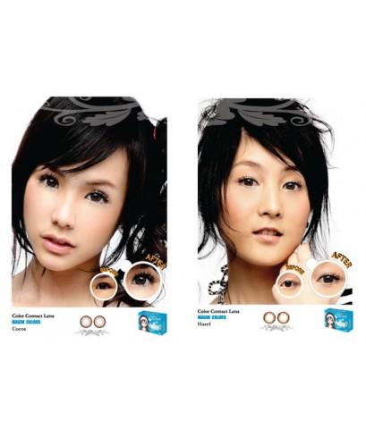 คอนแทคเลนส์เปลี่ยนสีตารายเดือน  >> BigEye ตาโต + ตาสวย