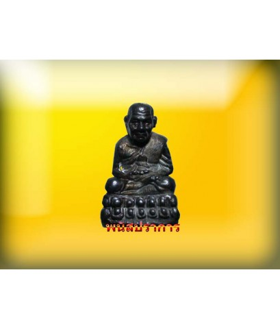 รูปหล่อ นวโลหะ หลวงปู่ทวด รุ่นสร้างวิหาร ท่านอาจารย์นอง วัดทรายขาว ปี37 น่าบูชามากๆ
