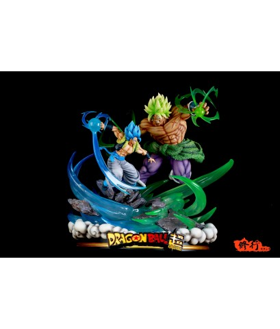 Master Grade Studio Dragonball Broly VS Gogeta LED Limited Resin Statue