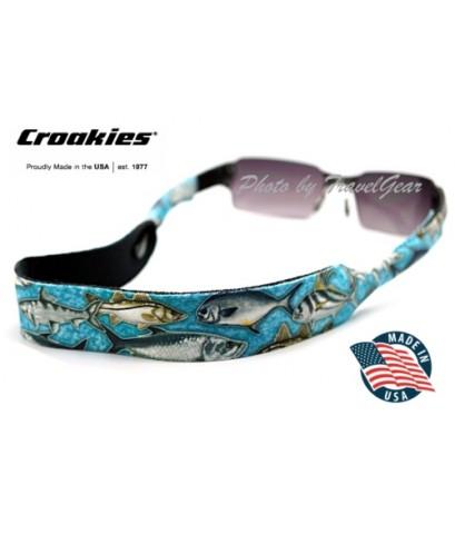 สายคล้องแว่นตา Croakies XL รุ่น Flats Aqua