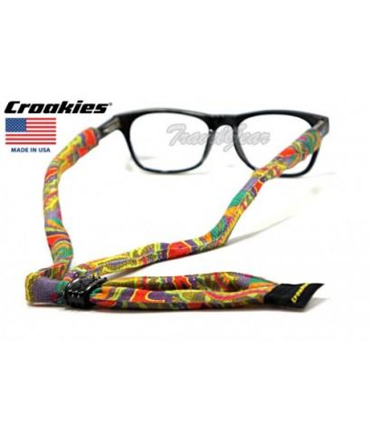 สายคล้องแว่นตา Croakies รุ่น Suiter XL Poly Market Bright