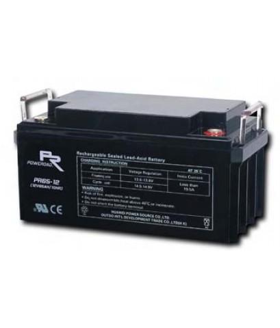 แบตเตอรี่ Poweroad : PR65-12 (12V 65Ah)