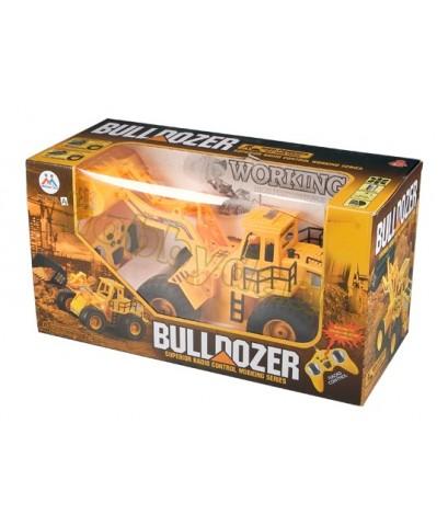มีคลิปให้ดู!! รถไถดิน Bulldozer 8895 ทำงานได้เหมือนจริง มีเสียงเครื่องยนต์ ไฟหน้า-หลัง มีปุ่มโชว์ก