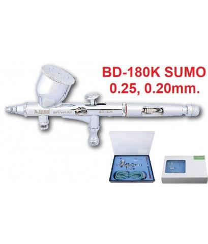 ปืนพ่นแอร์บรัช BD-180K SUMO