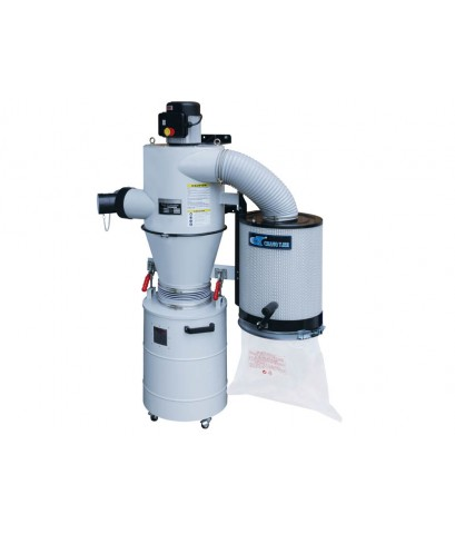 PORTABLE DUST CYCLONE WITH MANUAL CANISTER CLEANING SYSTEM-UB-2000V
