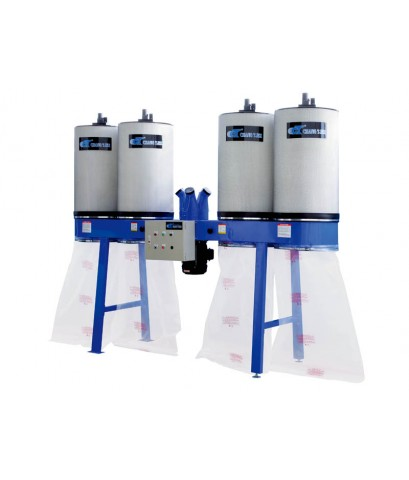 DUST CYCLONE WITH AUTO CLEAN CANISTER SYSTEM 7-1/2HP-10 HP-UB-810ECK