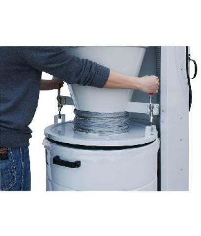 PORTABLE DUST CYCLONE WITH MANUAL CANISTER CLEANING SYSTEM -UB-1000V